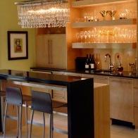 #ochre #piercecabinets #wetbar #parsonstable #serveyou