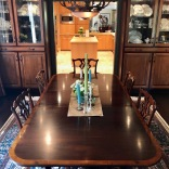 #customcabinets #cabinetsmatchtable #family dining #piercecabinets