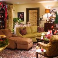 #pearson #familyroom #ralphlauren #annieglass #osbornelittle