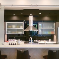 #memphis #contemporary #customkitchen